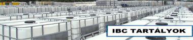 IBC tartályok eladók!