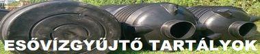 műanyag használt felújított esővízgyűjtő tartályok, szennyvízgyűjtő tartályok garanciával