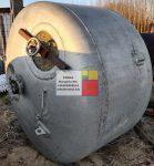 3 m3-es álló hengeres alumínium tartály - víztorony;
