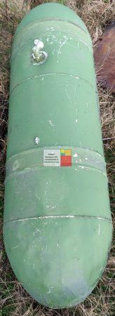 0,23 m3-es álló / fekvő hengeres alumínium tartály - R1;