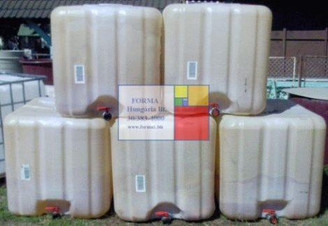 Használt IBC ballon, 1000 liter, minőség csökkent - több db - R10+;