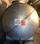 4 m3 - es ALUMÍNIUM fekvő hengeres tartály - több db - R4;