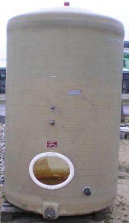 5 m3 - es álló poliészter - üvegszálas műanyag tartály - RESISTAN - több db - azonosító: IH-499