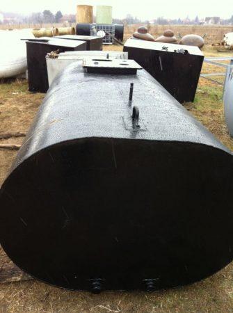 2,75 m3-es használt fekvő - lapított henger - vastartály - R1;