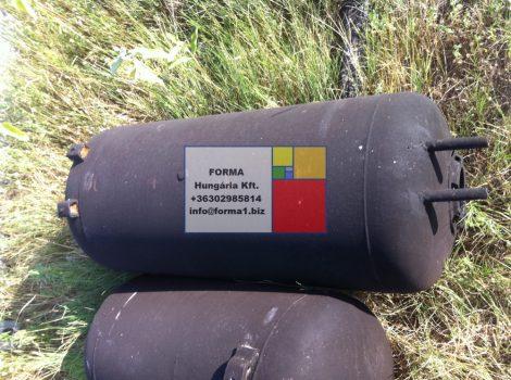 0,2 m3-es álló / fekvő hengeres vastartály - bojler - R1;