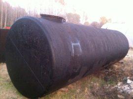 25 m3-es fekvő hengeres acéltartály