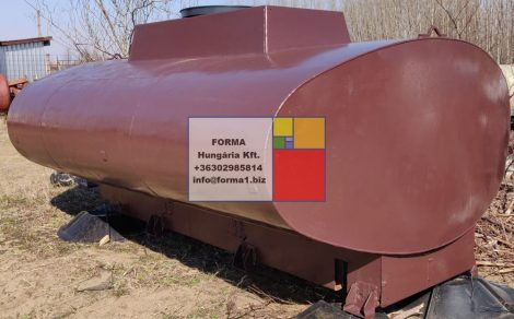 6 m3-es szállító - lapított lencse - vastartály - R1;
