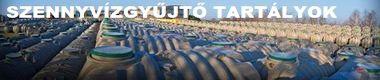 szennyvízgyűjtő tartályok garanciával